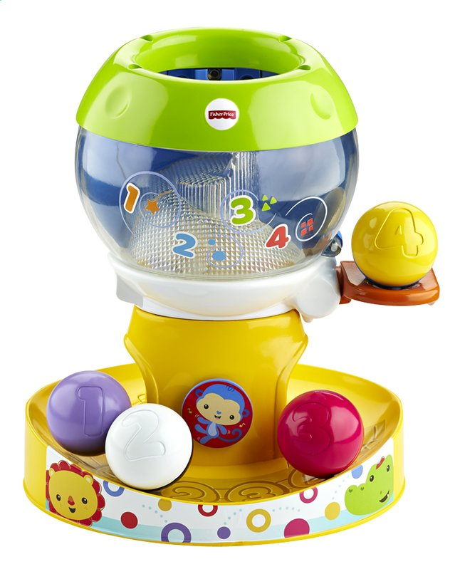 Afbeelding van Fisher-Price Silly Safari Swirl'n Tunes Gumball from DreamLand