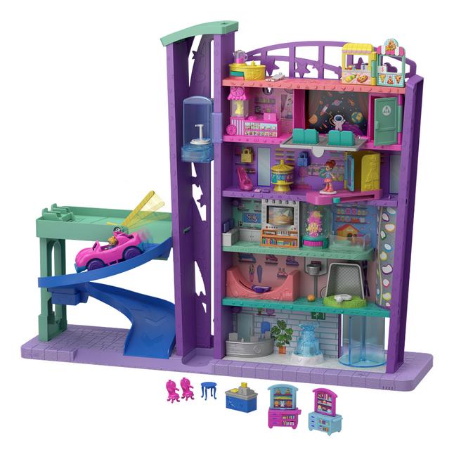 Afbeelding van Mattel Speelset Polly Pocket Polyville Mega Mall Super Pack from DreamLand