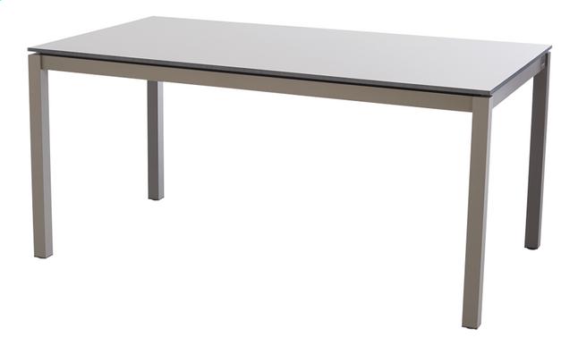 Image pour Jati & Kebon table de jardin Djerba taupe 160 x 90 cm à partir de DreamLand