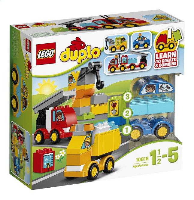 Afbeelding van LEGO DUPLO 10816 Mijn eerste voertuigen from DreamLand