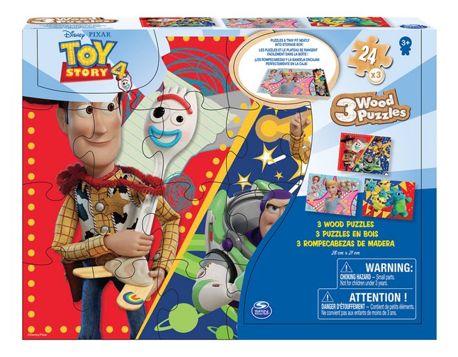 Afbeelding van Spin Master Puzzel 3-in-1 Toy Story 4 from DreamLand