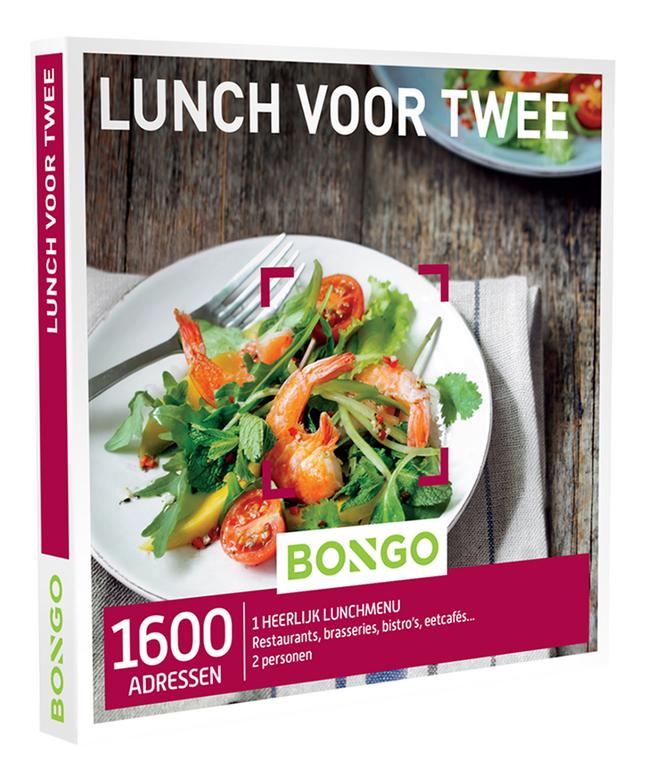 Afbeelding van Bongo cadeaubon Lunch voor Twee from DreamLand