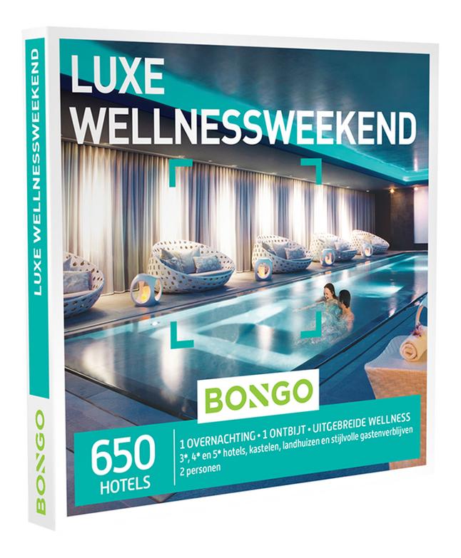 Afbeelding van Bongo cadeaubon Luxe Wellnessweekend from DreamLand