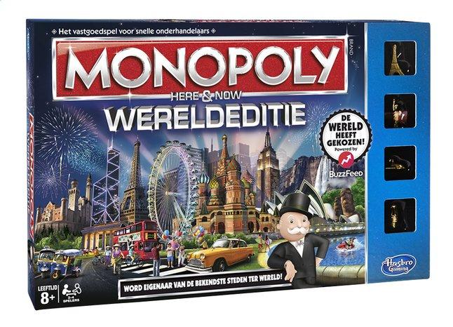 Afbeelding van Monopoly Wereldeditie from DreamLand