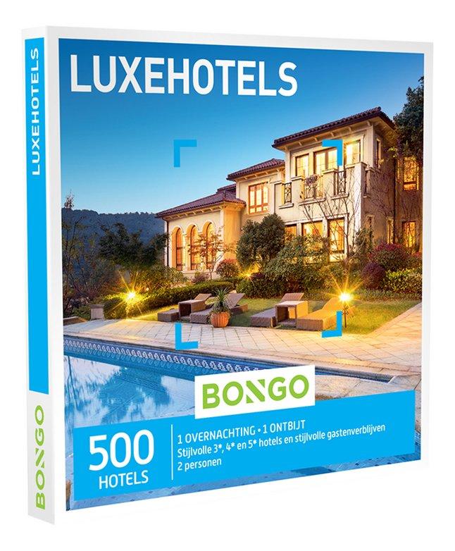Afbeelding van Bongo cadeaubon Luxehotels from DreamLand