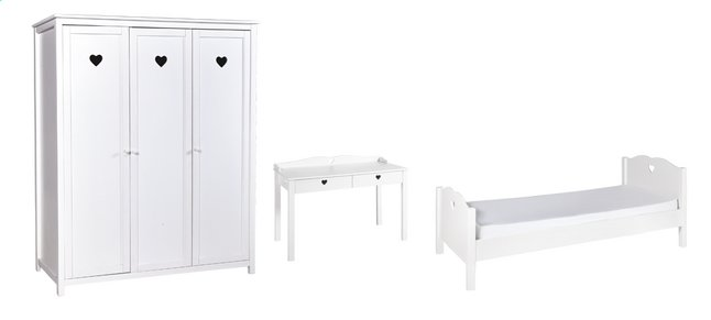 Afbeelding van 3-delige kamer Amori met 3-deurskast from DreamLand