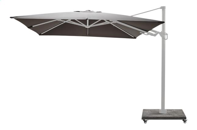 Image pour Ocean parasol suspendu Bahia aluminium 3 x 3 m Charcoal/blanc à partir de DreamLand