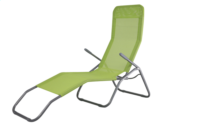 Image Pour Chaise Longue Lazy Lounger Siesta Beach Lime A Partir De DreamLand