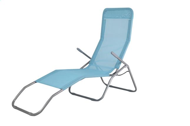 Image Pour Chaise Longue Lazy Lounger Siesta Beach Bleu Partir De DreamLand