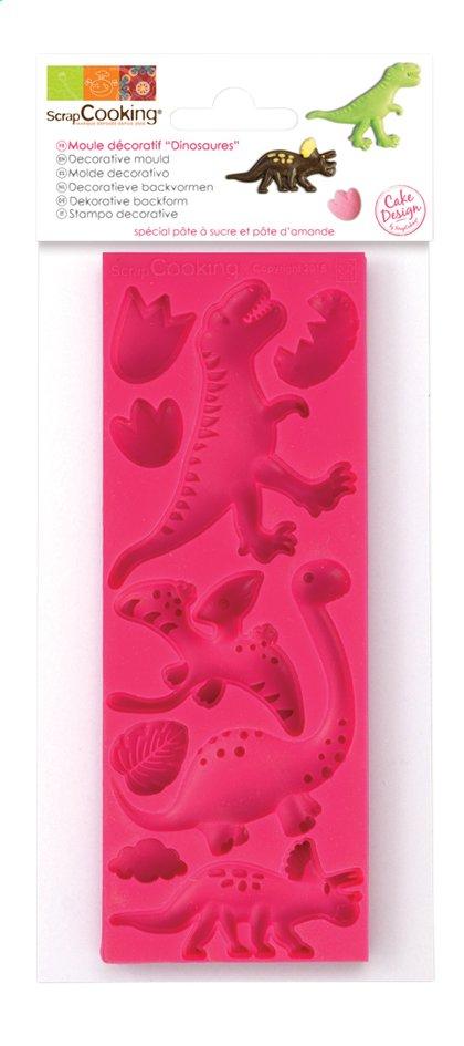 Afbeelding van ScrapCooking vorm voor suikerpasta Dino from DreamLand
