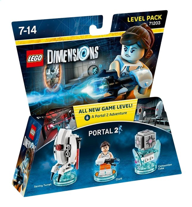 Afbeelding van LEGO Dimensions figuur Level Pack 71203 Portal 2 from DreamLand