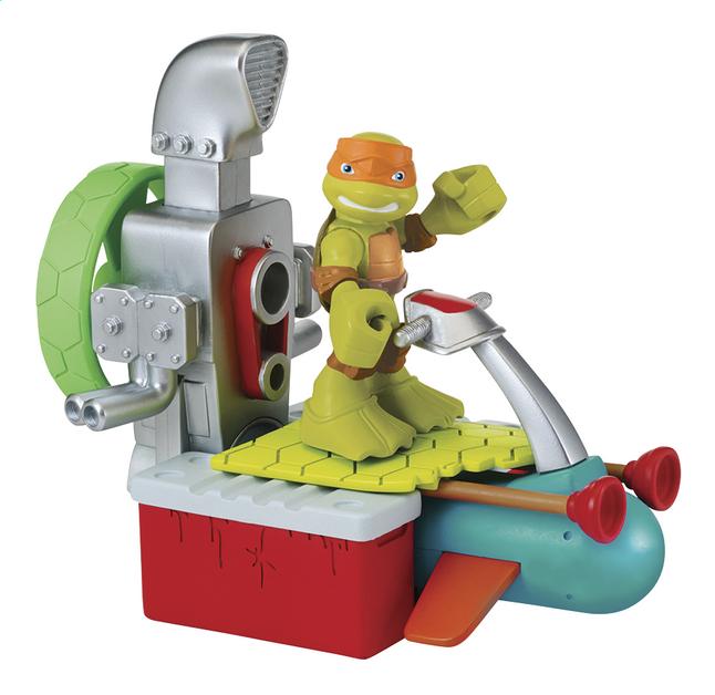 Afbeelding van Speelset Teenage Mutant Ninja Turtles Half Shell Heroes Dune Buggy with Mikey from DreamLand