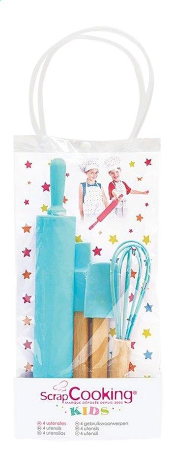 Afbeelding van ScrapCooking set met bakgerief Kids blauw from DreamLand