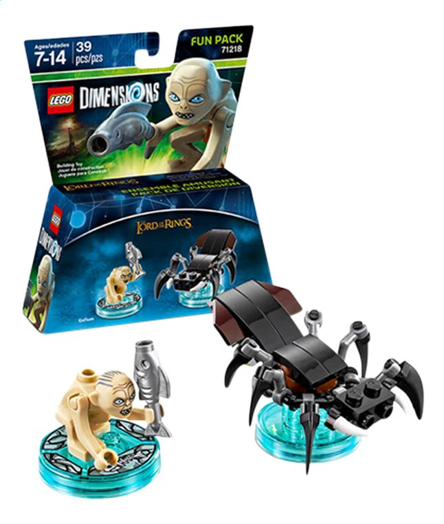 Afbeelding van LEGO Dimensions figuur Fun Pack The Lord of the Rings 71218 Gollum ENG/FR from DreamLand