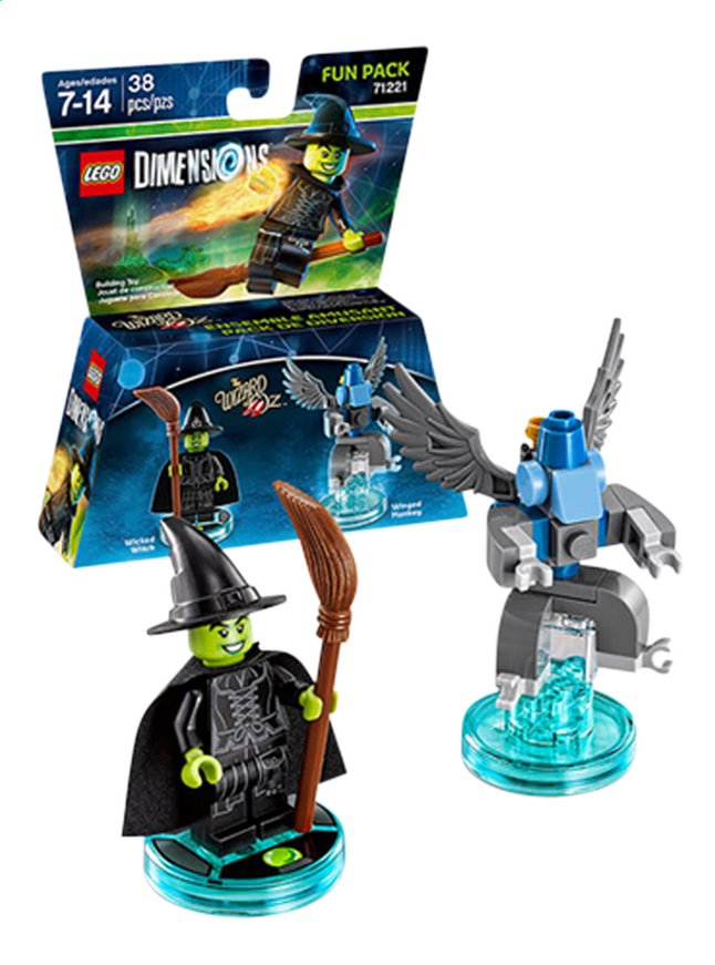 Afbeelding van LEGO Dimensions figuur Fun Pack Movie 71221 Wizard of Oz from DreamLand