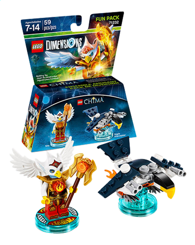 Afbeelding van LEGO Dimensions figuur Fun Pack Chima 71232 Eris from DreamLand