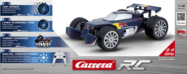 Afbeelding van Carrera auto RC Red Bull NX1 from DreamLand