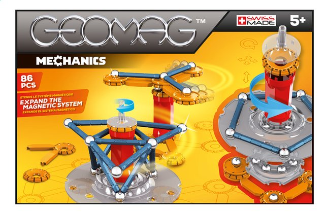 Image pour Geomag Mechanics 86 pièces à partir de DreamLand