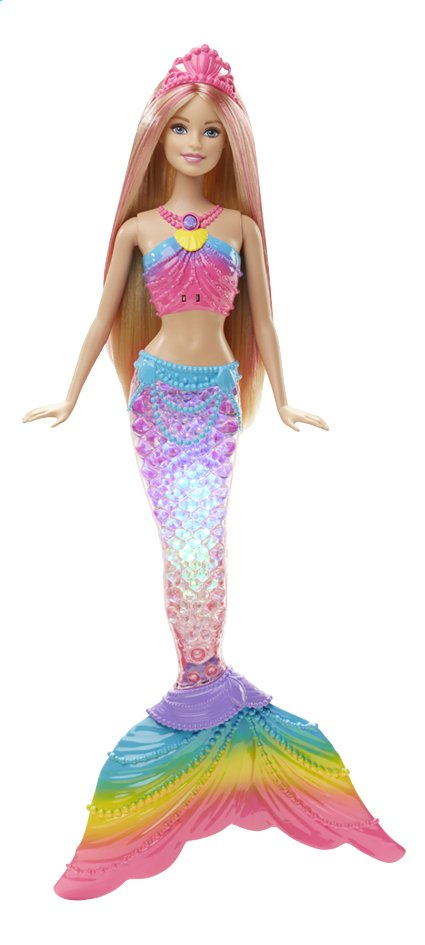 Afbeelding van Barbie mannequinpop Rainbow lights Mermaid from DreamLand