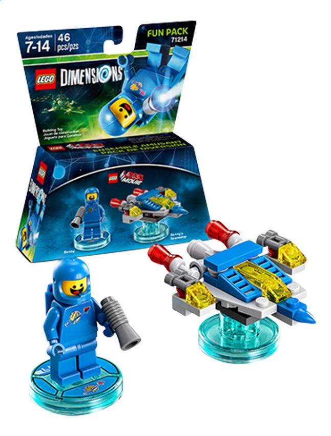 Image pour LEGO Dimensions figurine Fun Pack Movie 71214 Benny à partir de DreamLand