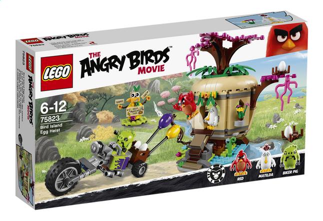 Afbeelding van LEGO Angry Birds 75823 Bird Island Egg Heist from DreamLand