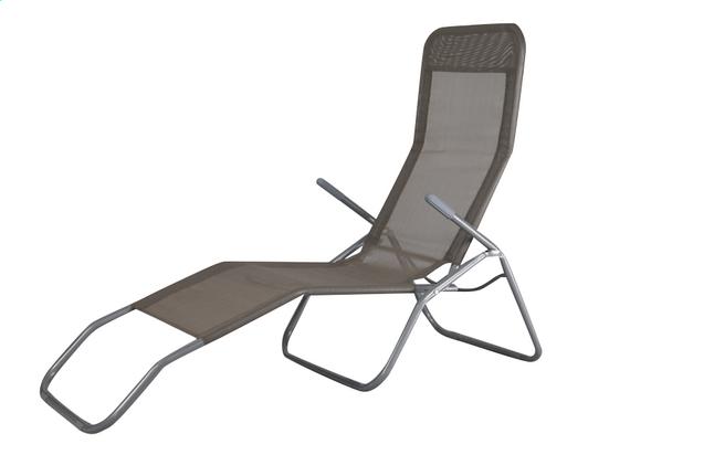 Chaise longue Lazy Lounger Siesta Beach beige