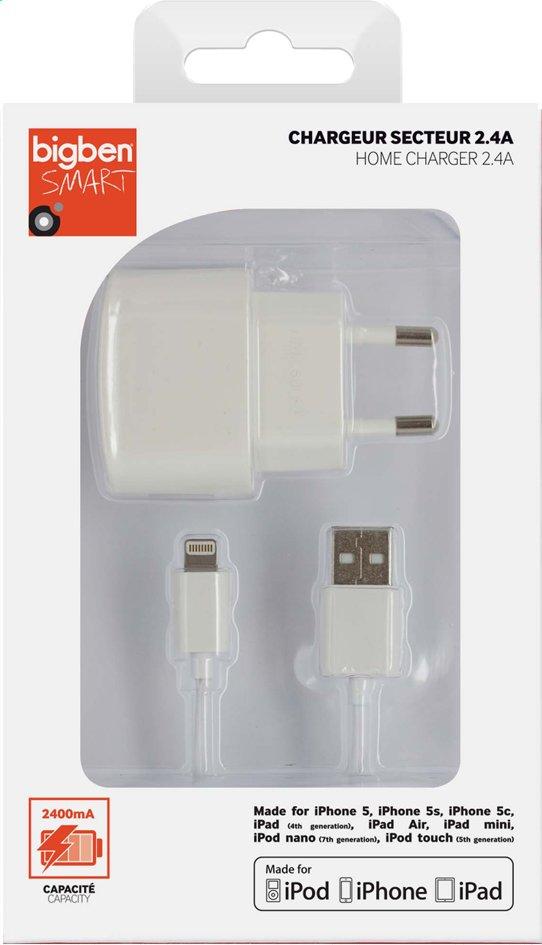 Afbeelding van bigben lightning lader voor iPhone-iPad-iPod wit from DreamLand