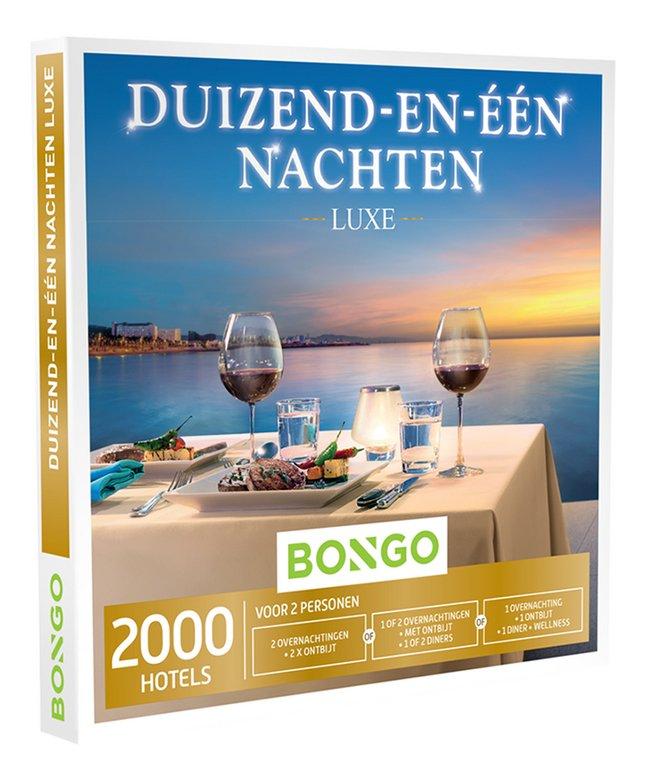 Afbeelding van Bongo cadeaubon Duizend-en-één Nachten Luxe from DreamLand
