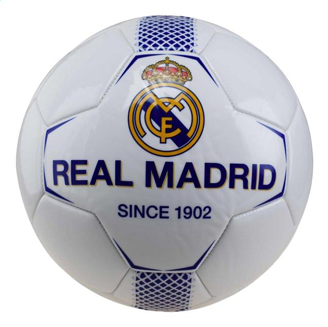 Image pour Ballon de football Real Madrid taille 5 blanc à partir de DreamLand