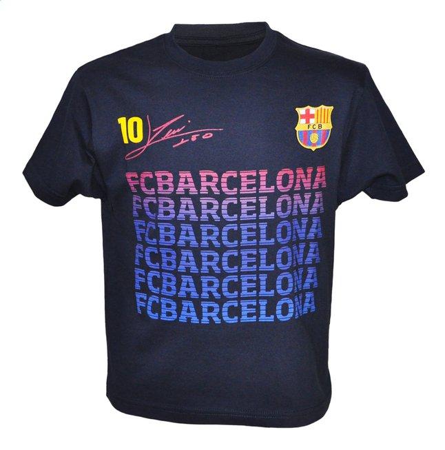 Afbeelding van T-shirt FC Barcelona Messi zwart from DreamLand