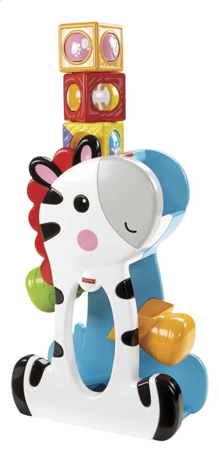 Afbeelding van Fisher-Price Roller Blocks Tumblin' Zebra from DreamLand