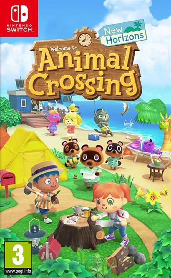 Nintendo Switch Animal Crossing New Horizons NL
