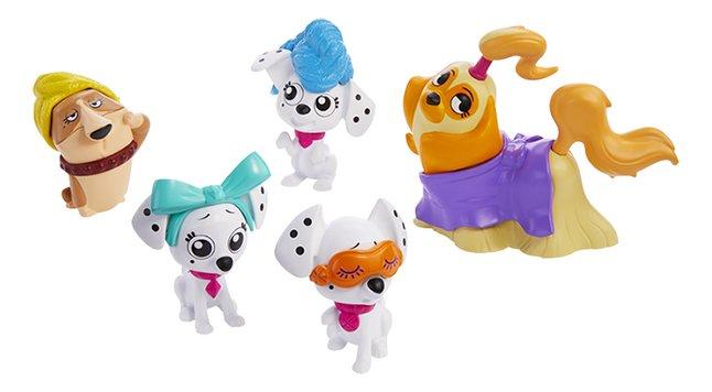 Disney 101 Dalmatian Street - 6 figuurtjes