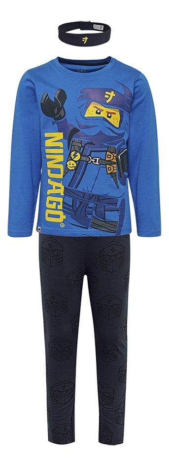 LEGO Ninjago pyjama met hoofdband blauw