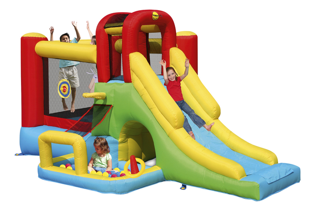 Afbeelding van Happy Hop springkasteel Playcenter 7-in-1 from DreamLand