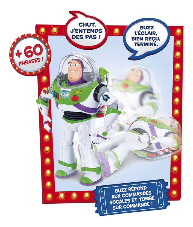 Figurine interactive Toy Story 4 Incroyable Buzz