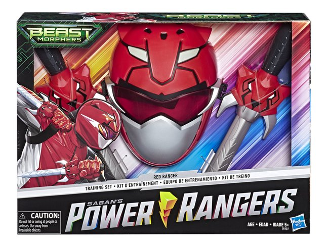 Power Rangers Beast Morphers Red Ranger Training Set