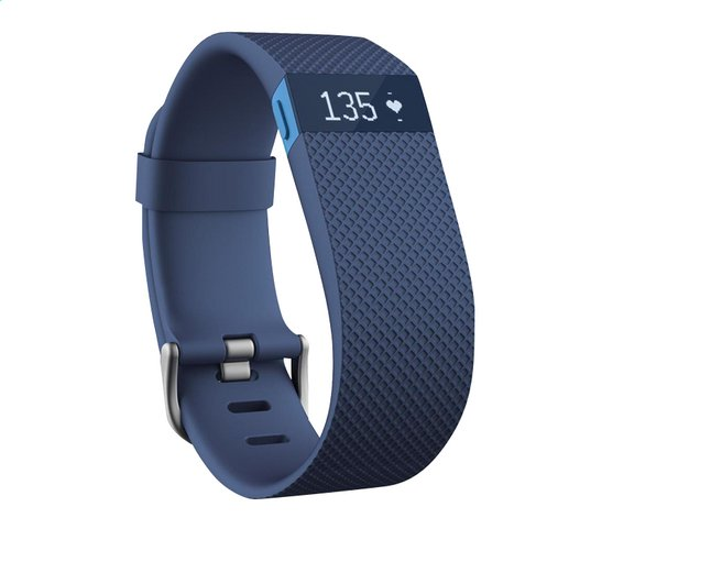 Afbeelding van Fitbit activiteitsmeter Charge HR, maat L blauw from DreamLand