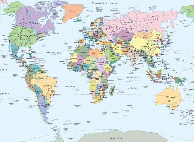 Afbeelding van Ravensburger puzzel Wereldkaart from DreamLand