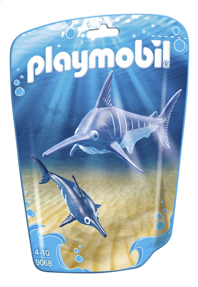 Afbeelding van Playmobil Family Fun 9068 Zwaardvis met jong from DreamLand