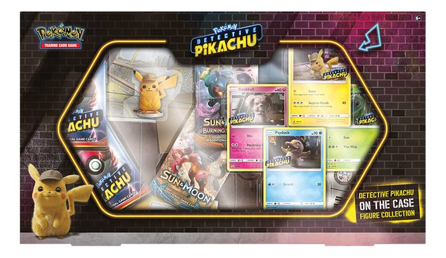 Pokémon Trading Cards Detective Pikachu On the Case Figure Collection