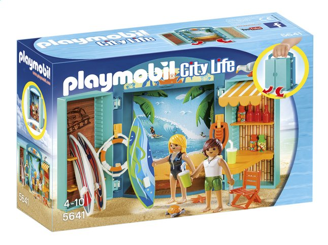Image pour Playmobil City Life 5641 Coffre Boutique de surf à partir de DreamLand