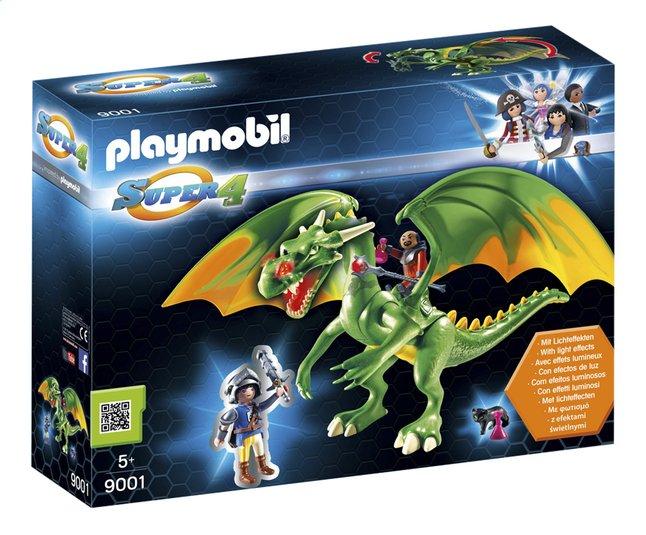Afbeelding van Playmobil Super 4 9001 Koningsland Draak met Alex from DreamLand