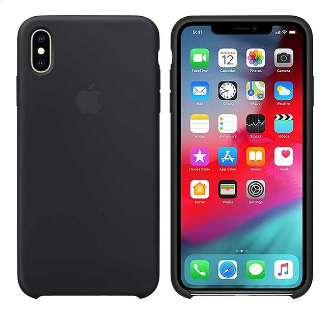 Image pour Apple coque en silicone pour iPhone Xs Max noir à partir de DreamLand