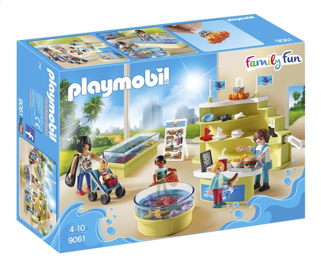 Afbeelding van Playmobil Family Fun 9061 Aquariumshop from DreamLand