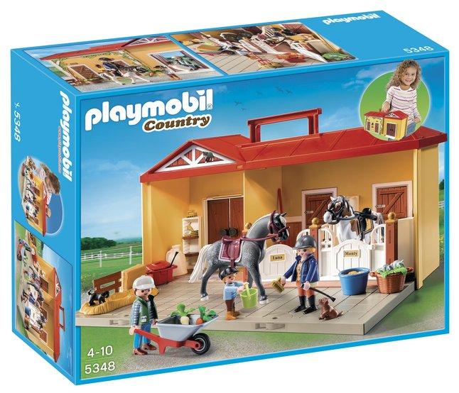 Image pour Playmobil Country 5348 Écurie transportable à partir de DreamLand