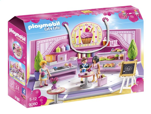 PLAYMOBIL City Life 9080 Taartenwinkel