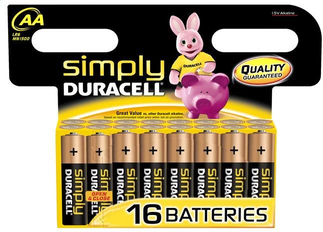 Afbeelding van Duracell Simply 16 AA-batterijen Obelix from DreamLand