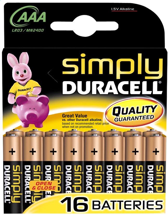 Image pour Duracell Simply 16 piles AAA Obélix à partir de DreamLand