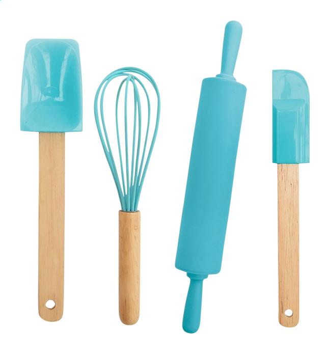 ScrapCooking set met bakgerief Kids blauw
